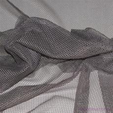 Polyesterová elastická síťovina barva šedá, oko 2x2 mm - DZ-008-101