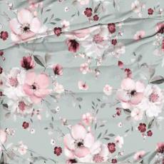 Bavlněné látky vzor kytičky 1475