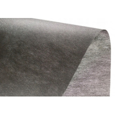 Vlizelín bez lepidla barva černá 40 gr