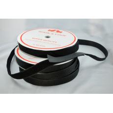 Pásek na suchý zip HÁČEK a SMYČKA SET černý 50 mm balení 25m