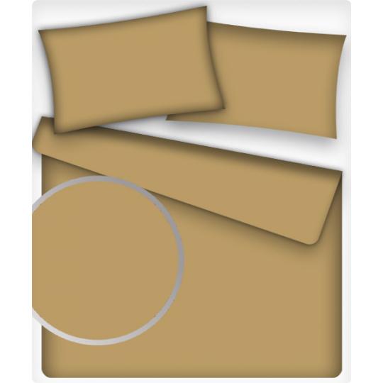 Jednofarebná bavlnená látka, farba toffi 5, metráž 160 cm