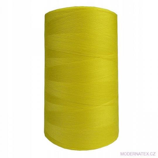 Nitě VIGA 120 do overloků 5000m barva žlutá 911