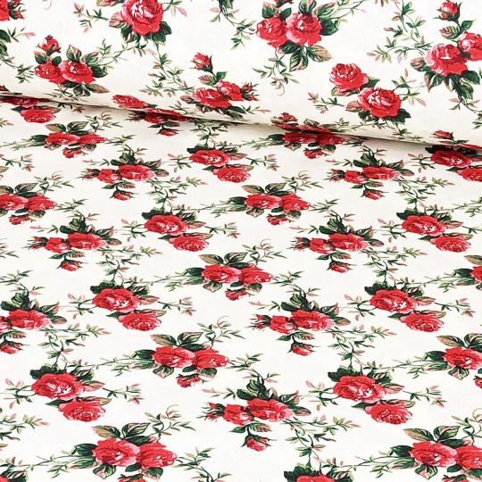 Tkanina bawełniana wzór Kwiaty 427