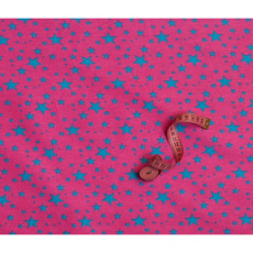 Dekorační bavlněné látky vzor hvězdy VTE 1556-1
