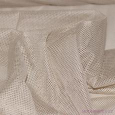 Polyesterová elastická síťovina barva béžová, oko 1x1 mm - DZ-008-100