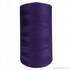 Nitě VIGA 120 do overloků 5000m barva fialová 323