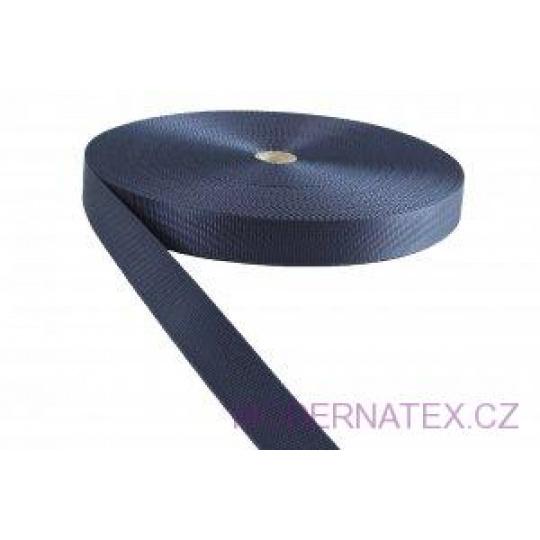 Polypropylénový popruh 25 mm granátový (balení 50 m)