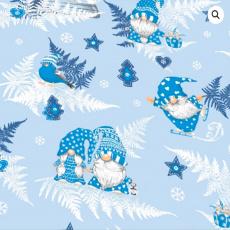 Vánoční bavlněné látky vzor 1133-4