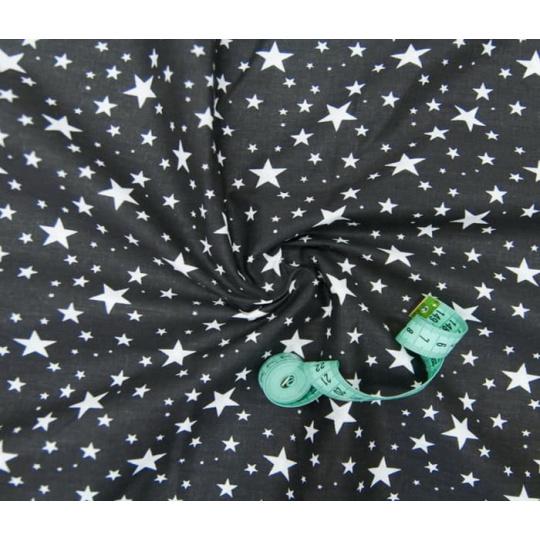 Dekorační bavlněné látky vzor hvězdy VTE 1556-7
