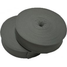 Lemovací proužek  PES 40 mm  barva sv. šedá