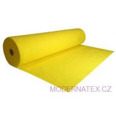 Dekorační filc 3 mm barva žlutá