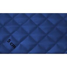 Ekokůže barva CHABER modrá prošívaná