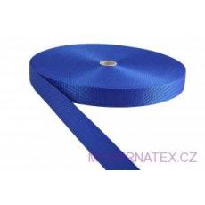 Polypropylénový popruh 30 mm modrý (balení 50 m)