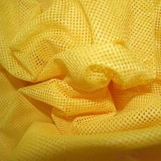 Polyesterová elastická síťovina barva žlutá, oko 2x2 mm - DZ-008-102