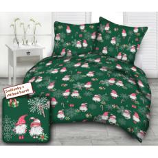 Vánoční vzory bavlněné látky, metráž 3384A