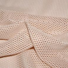 Síť polyesterová, Síťovina pro oděvů sv.bezova - DZ-008-144  2mm x 2mm