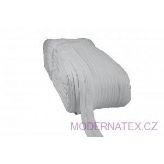 Zip spirálový bílý 5 mm (200 m)