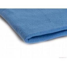 Látka Microfleece barva sv. modrá 15