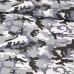 Bavlněné látky MORO  šedý podklad