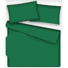 Jednobarevná bavlněná  látka zelená 502-2