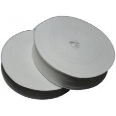 Lemovací proužek  PES 40 mm  barva bílá