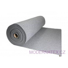 Dekorační filc 3 mm barva šedá