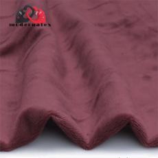 Minky mikroplyš jednobarevné barva bordo
