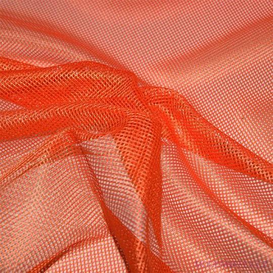 Síť polyesterová, Síťovina pro oděvů červená - DZ-008-132  2mm x 2mm