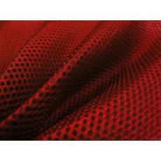 3D SÍŤOVINA PLETENÁ barva červená D171