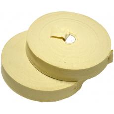 Lemovací proužek  PES 40 mm  barva ecru