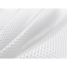 3D SÍŤOVINA PLETENÁ barva bílá D501