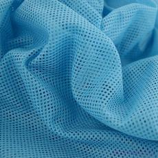 Polyesterová elastická síťovina barva modrá, oko 2x2 mm- DZ-008-105