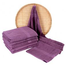 Darsi froté ručník 50x100 cm barva fialová