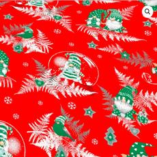 Vánoční bavlněné látky vzor 1133-6