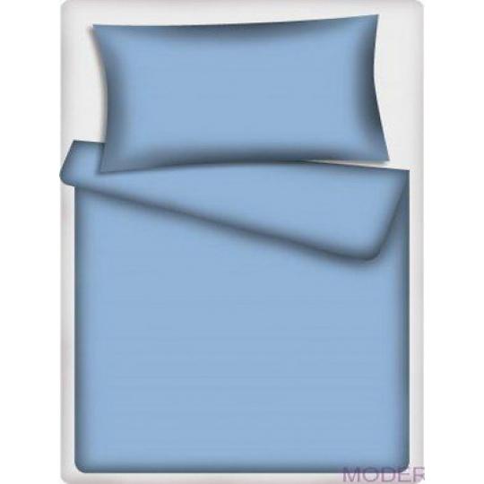 Jednobarevná bavlněná  látka sv. modrá 506-1