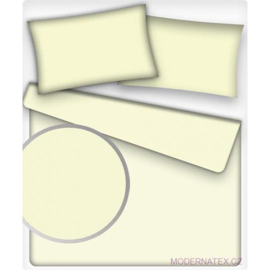 Jednobarevná bavlněná látka barva SLONOVÁ KOST 2