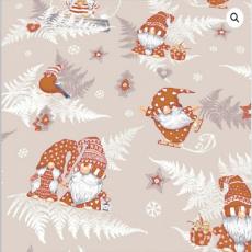 Vánoční bavlněné látky vzor 1133-1