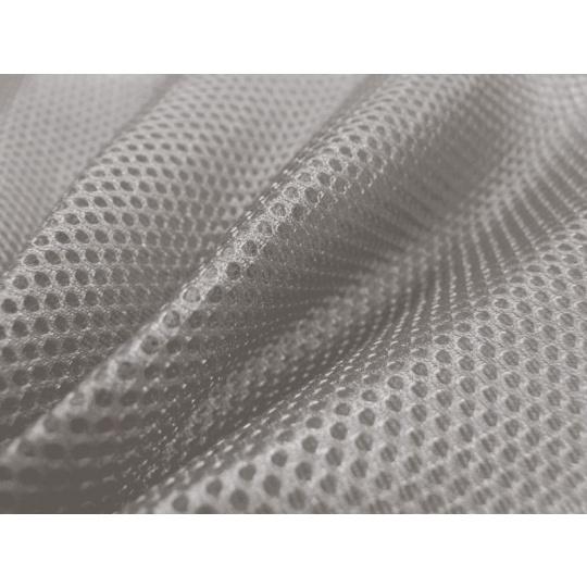 3D SÍŤOVINA PLETENÁ barva šedá D134
