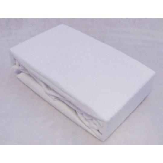 Exclusive Froté prostěradlo dvoulůžko - bílá 180x200 cm