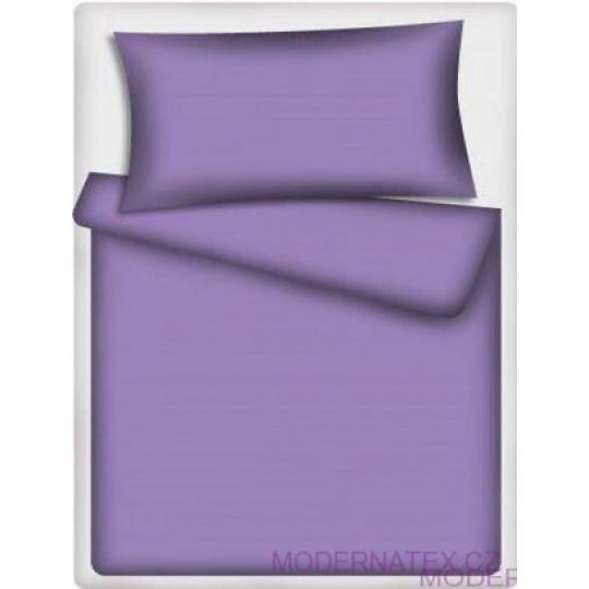 Jednobarevná bavlněná látka fialová 510-2